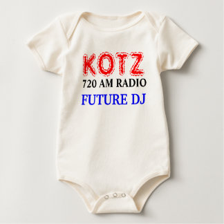 KOTZ, future dj 720 AM RADIO Baby Bodysuit