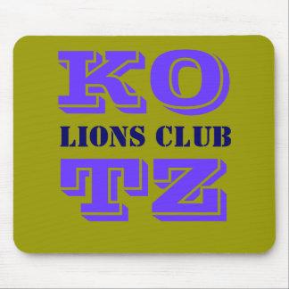 KOTZ, LIONS CLUB ALFOMBRILLA DE RATON