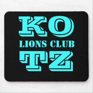 KOTZ, LIONS CLUB ALFOMBRILLAS DE RATONES