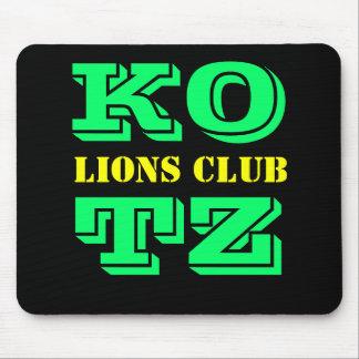 KOTZ, LIONS CLUB MOUSEPADS