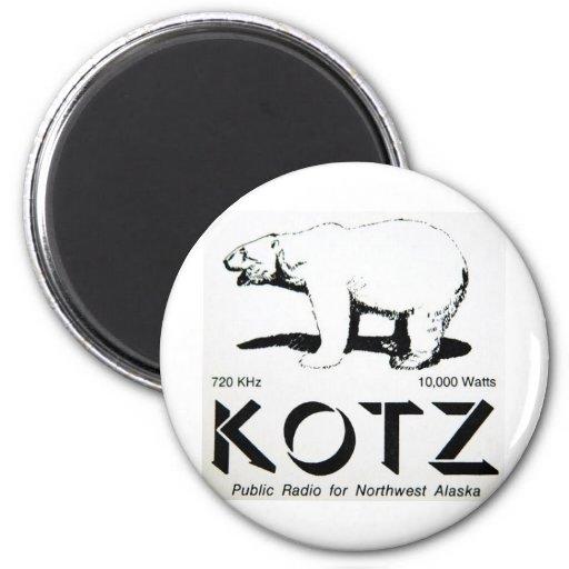 kotz logo fridge magnets