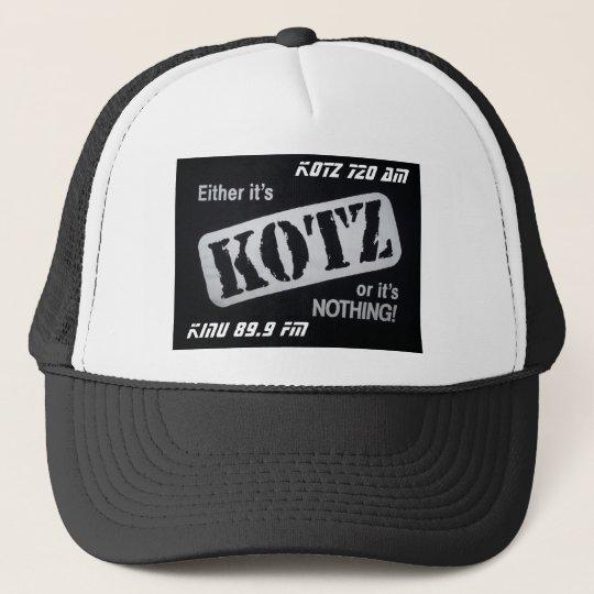 kotz or nada trucker hat