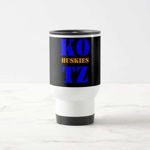 KOTZ, PERROS ESQUIMALES TAZA DE CAFÉ