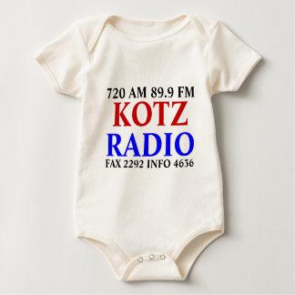 KOTZ, RADIO, 720 AM 89.9 FM, FAX 2292 INFO 4636 BABY CREEPER