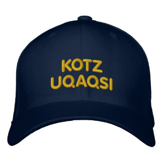 KOTZ, UQAQSI, radio Gorras Bordadas