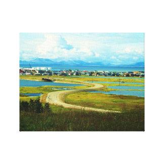 kotzebue alaska canvas print