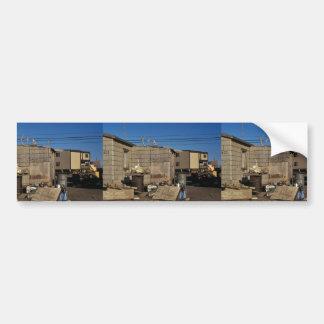 Kotzebue Buildings Bumper Sticker