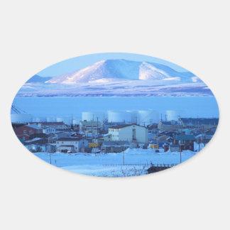 kotzebue oval sticker
