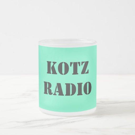 KOTZRADIO COFFEE MUGS