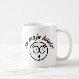 ¡Koule del moje del Au! Taza De Café