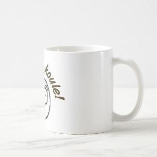 ¡Koule del moje del Au! Tazas De Café