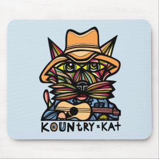 """Kountry Kat"" Mousepad"