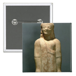 Kouros Dionysermos, Griego, período arcaico, c.600 Pin Cuadrado