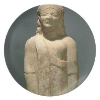 Kouros Dionysermos, Griego, período arcaico, c.600 Platos
