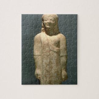 Kouros Dionysermos, Griego, período arcaico, c.600 Puzzles Con Fotos