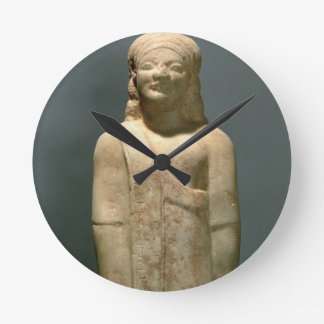 Kouros Dionysermos, Griego, período arcaico, c.600 Reloj Redondo Mediano