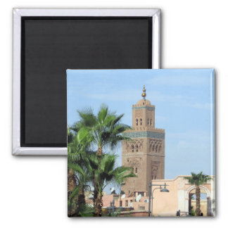 koutoubia mosque 2 inch square magnet