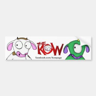 kow bumper sticker