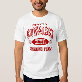 Kowalski Polish Drinking Team Shirt