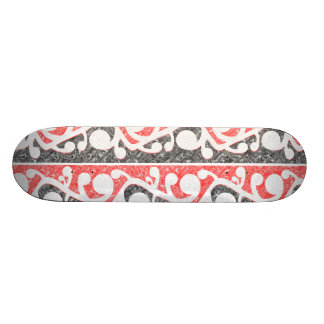 kowhaiwhai rows marbled s6 pillow.png skateboard deck