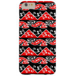 Kowhaiwhai Traditional Maori Koru Pattern Barely There iPhone 6 Plus Case