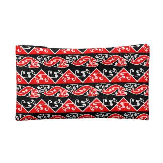 Kowhaiwhai Traditional Maori Koru Pattern Makeup Bag