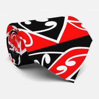 Kowhaiwhai Traditional Maori Koru Pattern Neck Tie