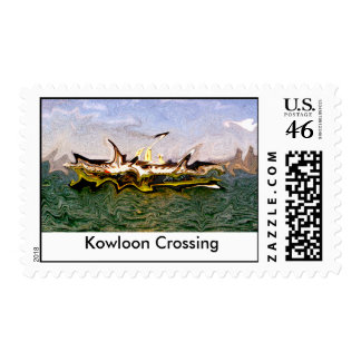 Kowloon Crossing Postage Stamps
