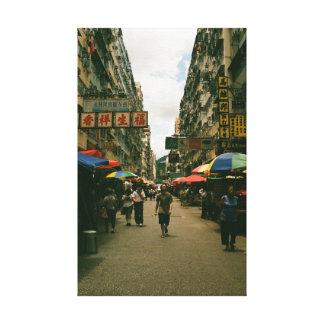 Kowloon Man Canvas Print