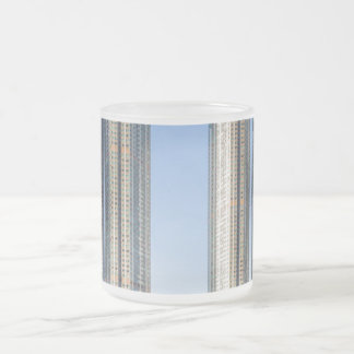 Kowloon Station Union Square, Hong Kong Frosted Glass Coffee Mug