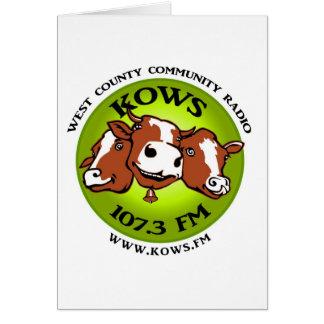 kows logo card