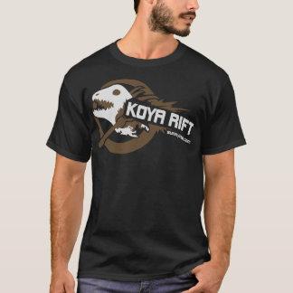 Koya Rift (G2)(dark) Brown T-Shirt