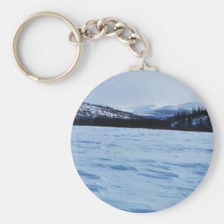 Koyukuk Refuge Frozen Lake Key Chain