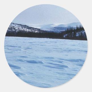 Koyukuk Refuge Frozen Lake Sticker