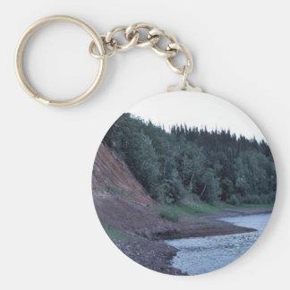 Koyukuk River Bluff Keychain