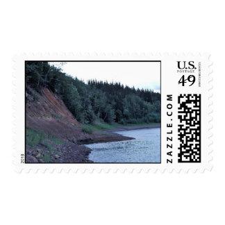 Koyukuk River Bluff Stamp