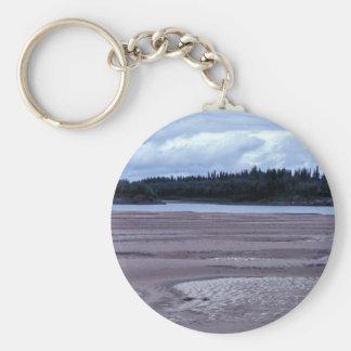 Koyukuk River Sandbars Key Chain