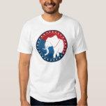 Kozzi-illustrated-image-of-a-elephant-badge-5000x5 T-Shirt