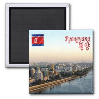 KP - North Korea - Pyongyang - Taedong River Magnet