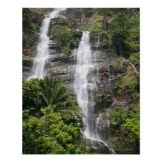 Kpalime waterfalls. Central Togo, West Africa 2 Print