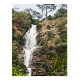 Kpalime waterfalls Central Togo West Africa Post Card