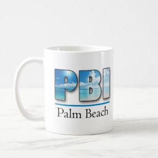 KPBI Palm Beach International  Gateway to Paradise Coffee Mugs