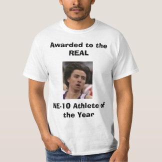 kpg, Awarded to the REALNE-10 Athlete of the Year T-Shirt