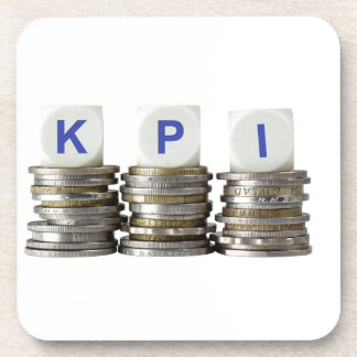 KPI - Key Performance Indicator Drink Coaster