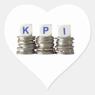 KPI - Key Performance Indicator Heart Sticker
