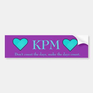 KPM Quote Bumper Sticker