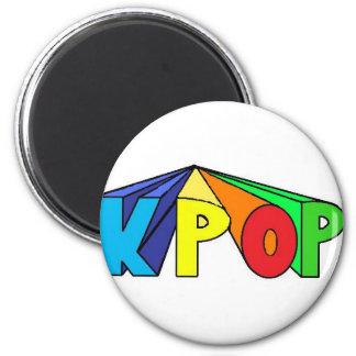 KPOP colorido 3D Imanes Para Frigoríficos