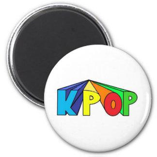 KPOP colorido 3D Iman Para Frigorífico