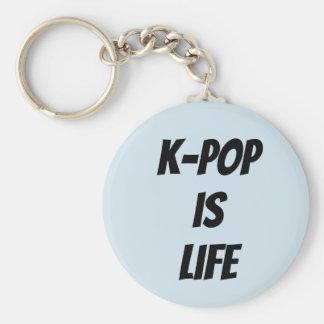 kpop is life keychain