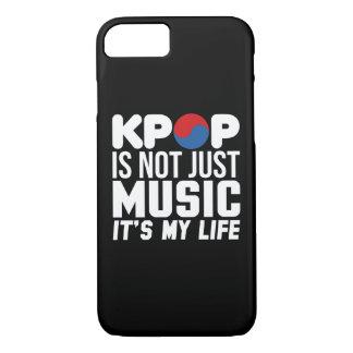 Kpop Is My Life Slogan Graphics (dark) iPhone 8/7 Case